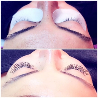 Chicago Eyelash Extension by Tola - before and after
