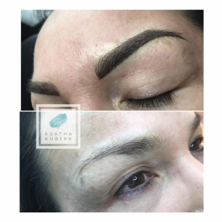 chicago permanent eyebrows before and after